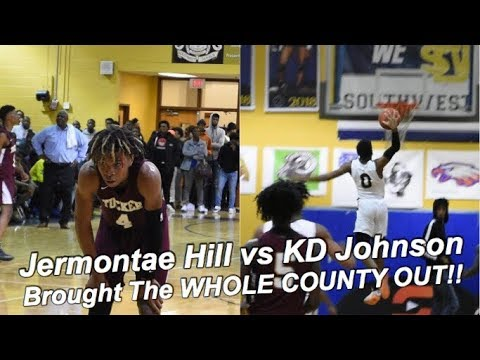 Jermontae Hill Vs KD Johnson Brought The WHOLE COUNTY OUT!! | FULL GAME HIGHLIGHTS