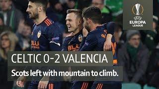 Celtic vs Valencia (0-2) | UEFA Europa League Highlights