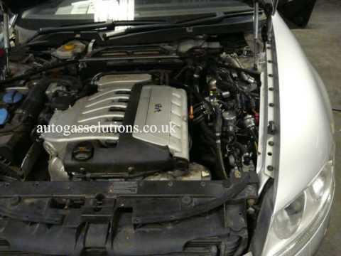 LPG Gas Autogas Conversion VW Phaeton