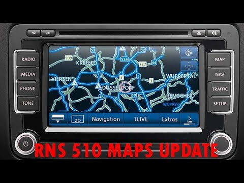 How To: Volkswagen RNS 510 - Update Maps V.15 East Europe 2018 - From DVD