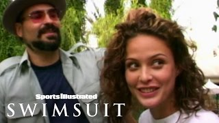 Josie Maran And The White Tigers   Sports Illustrated Swimsuit