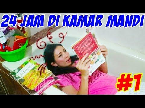 GILA !!! 24 JAM DI KAMAR MANDI WC PART 1! Tanpa Charger? | Drama Parodi Lucu | CnX Adventurers