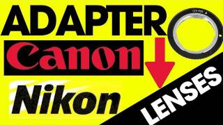 Cheapest & Best Lenses for DSLR Video | Adapter Nikon Lenses to Canon | Fotodiox Pro