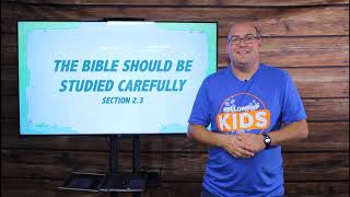 T&T: Grace In Action 2.3 - The Bible Should Be Studied Carefully
