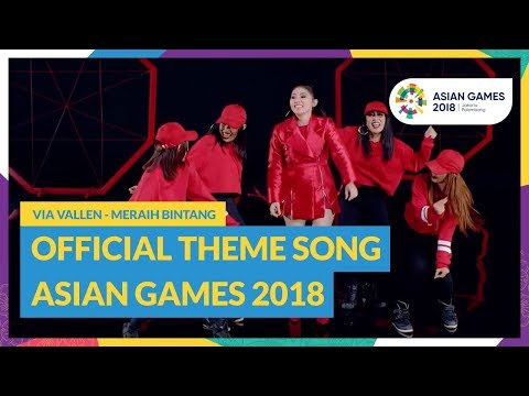 Mix - Reach for The Stars - Via Vallen - Official Theme Song Asian Games 2018