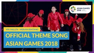 Gambar cover Meraih Bintang - Via Vallen - Official Theme Song Asian Games 2018