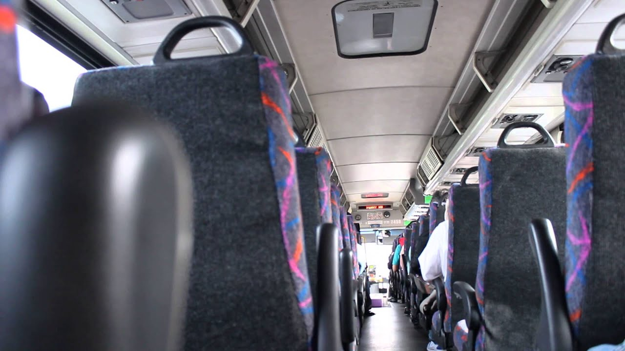 NJ TRANSIT Bus : On Board MCI D4500 #7458 on the 139 by Transit +PLUS