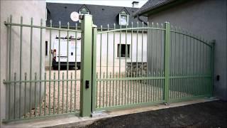 portail aluminium sib avec automatisme encastré nice 65