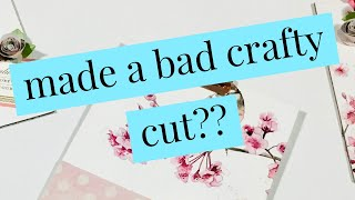made a bad crąfty cut?? Don't Scrap It! Two awesome ways to turn them into HAPPY ACCIDENTS