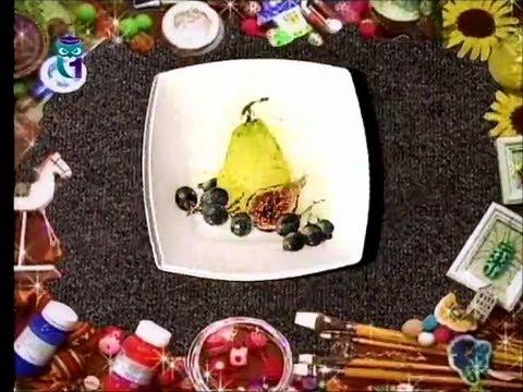 Декупаж. Декорируем поднос и тарелку, используя трехслойные бумажные салфетки. Мастер класс