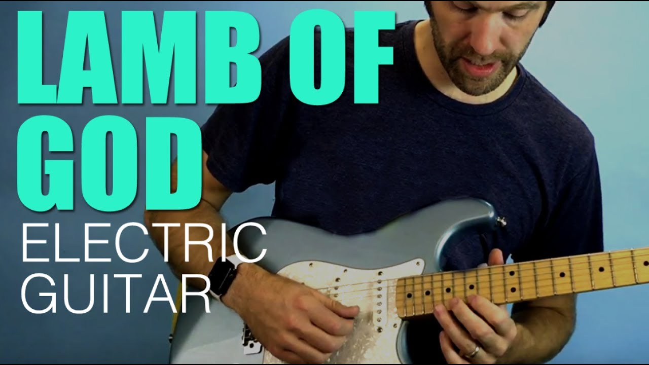 Lamb Of God Vertical Church Electric Guitar Parts And Run Through