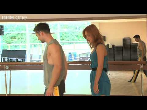 Aliona Vilani and Harry Judd  First Rehearsal  Strictly Come Dancing 2011  BBC One