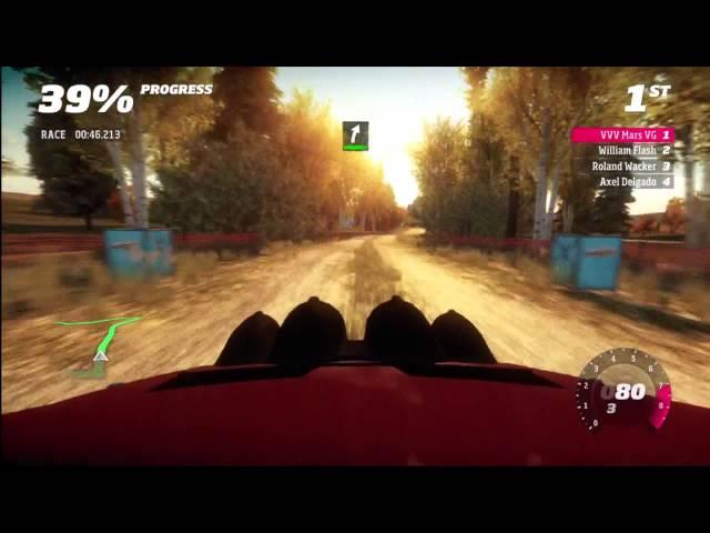 Forza Horizon Rally Montano Plains stage 1
