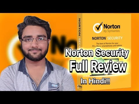 Norton Security 2018 Full Review!!! In Hindi!!!