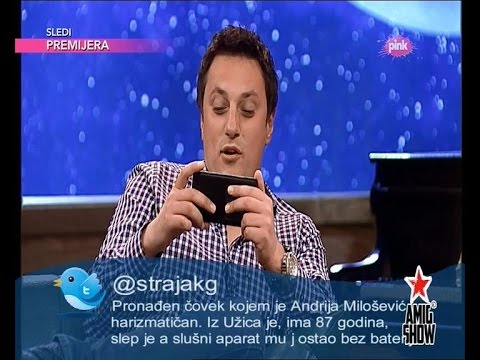 Ami G Show S07 - E08 - Bitter twitter - Andrija Milosevic