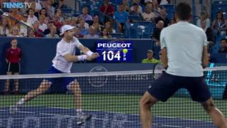 Murray Speeds Past Raonic In Cincinnati 2016
