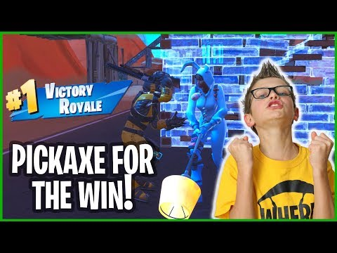 THE PICKAXE VICTORY ROYALE!