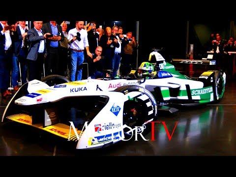 MOTORSPORT : 2017 AUDI FORMULA E  l E-tron FE04 & Team Presentation (ENG)