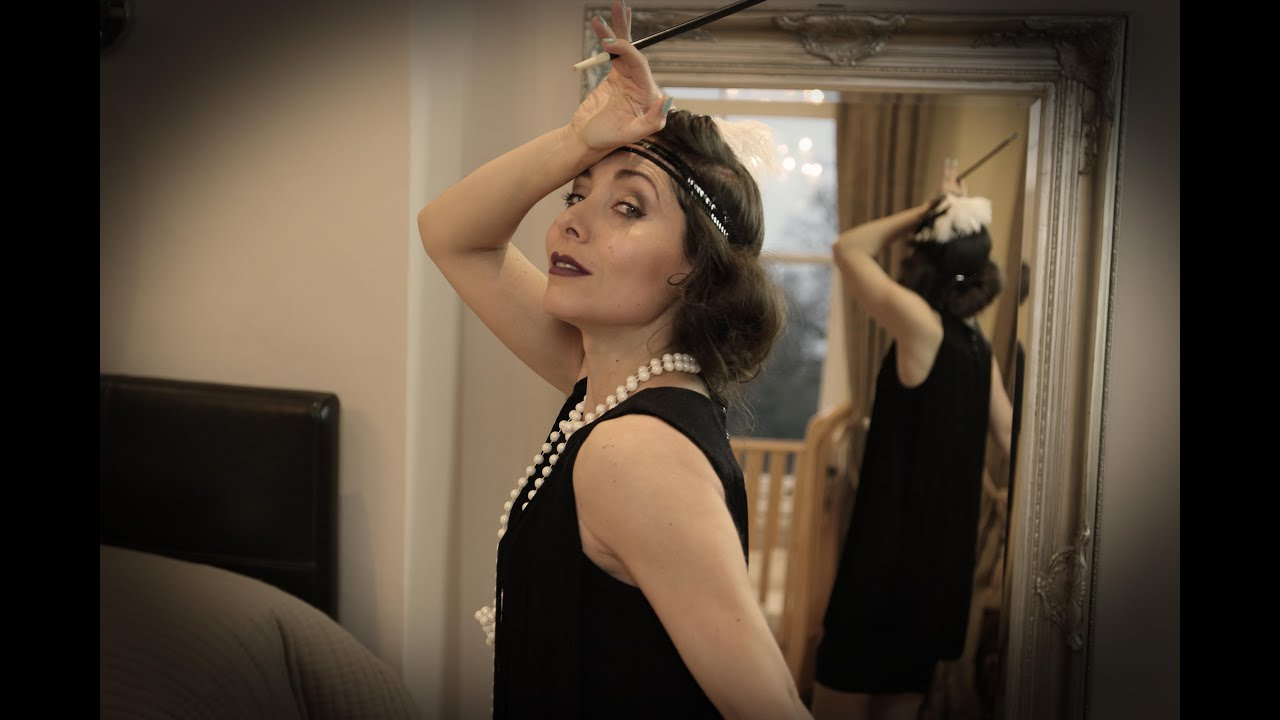6baef7ea838a Get ready with me - The Great Gatsby inspired 1920's party - with Make-up  artist Aimee Garner!!