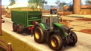 Farmer Sim 2018 (Android/iOS) - CONHECENDO O MAPA E VENDENDO FENOS