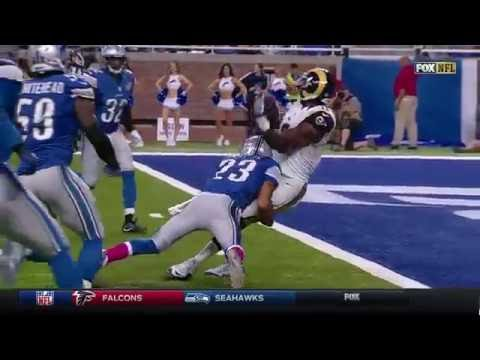 Kenny Britt Breaks Through Tackles for a 20-Yard TD! | Rams vs. Lions | NFL