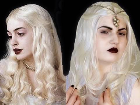 White Queen Alice in Wonderland Makeup Tutorial