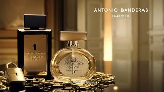 Antonio Banderas The Golden Secret Him/Her Comercial | BelezaNaWeb