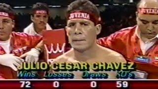 🥊【平成2年】フリオ・セサール・チャベス vs.安 京徳【ボクシング】Julio César Chávez