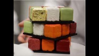 Торт Кубик Рубика из Silikomart SF104