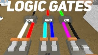 Logic Gates! What Are They? Roblox Lumber Tycoon 2
