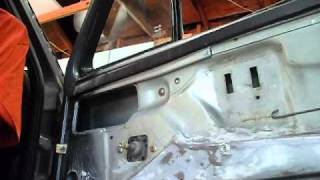 1987 volkswagen gli Inside door panels project - (part 1)