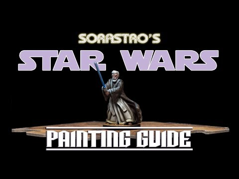 Star Wars Imperial Assault Painting Guide Ep.39: Obi-Wan Kenobi