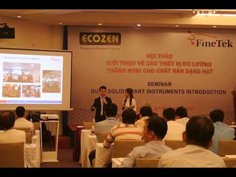 MC Uyen Minh - BULK SOLID SMART INSTRUMENTS INTRODUCTION SEMINAR