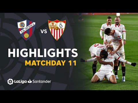 Huesca Sevilla Goals And Highlights