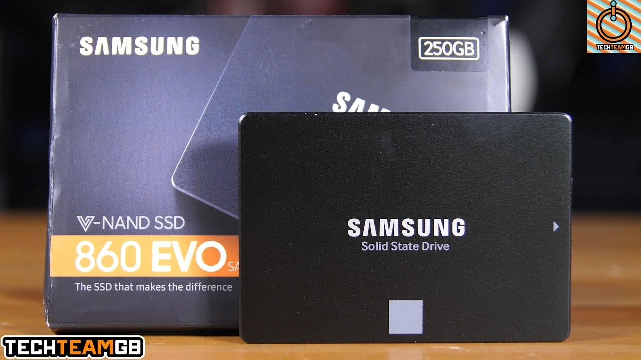 Samsung 860 Evo Ssd Review Youtube