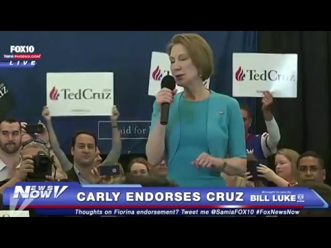 FULL SPEECH: Carly Fiorina Endorses Ted Cruz at Miami Rally - FNN