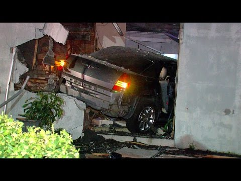 Car ends up in Cheviot flower shop after collision