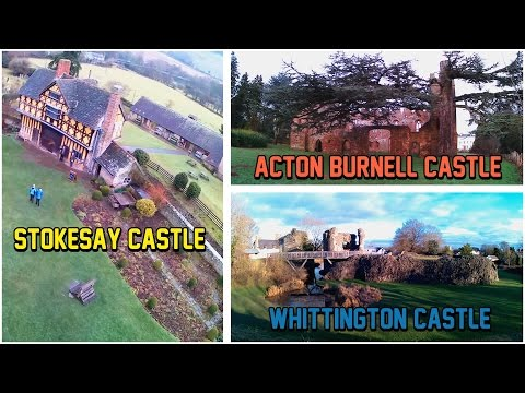 Stokesay,Acton Burnell,Whittington castle(United Kingdom)