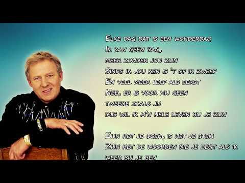 Koos Alberts -  Zijn Het Je Ogen (Lyrics Video)