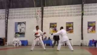 Campeonato do IV Encontro Nacional de Karate Shotokan USKBr.