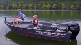 TRACKER Boats: 2016 Pro Guide V-16 T Deep V Aluminum Fishing Boat