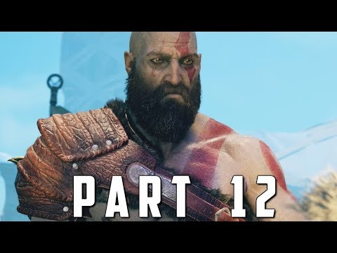 GOD OF WAR Walkthrough Gameplay Part 12 - STONE ANCIENT BOSS (God of War 4)