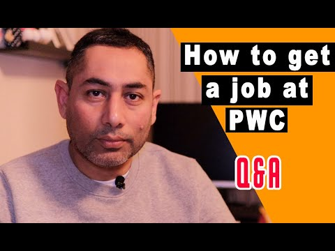 How To Get A Job At PWC 💥 PWC Interview Questions And Answers 💥