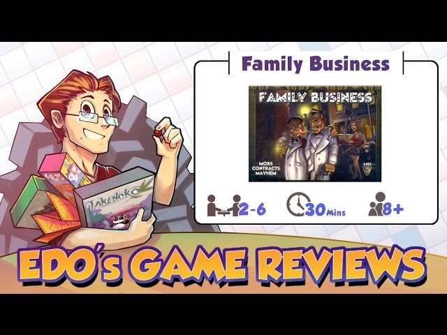 Family business boardgamesweb edos family business card game review reheart Image collections