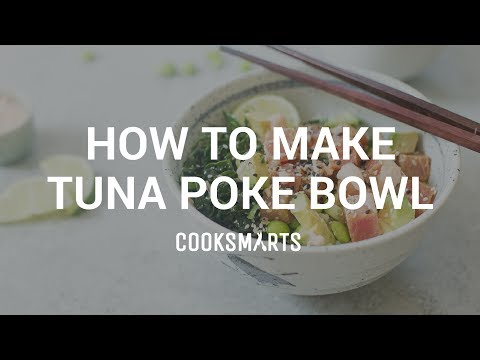 How to Make a Poke Bowl | Healthy Dinner Recipes by Cook Smarts