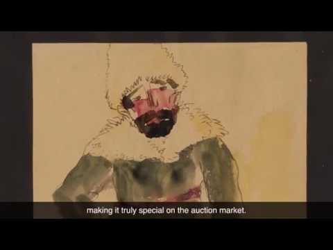Impressionist & Modern Art Highlight: Emil Nolde Watercolor