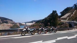 九州ツーリング紀行「桜前線、セローで走る脇道便り」佐賀県西部