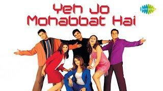 Yeh Jo Mohabbat Hai with lyrics | Dil Vil Pyar Vyar | Hariharan, Abhijeet, Babul Supriyo | Anand B