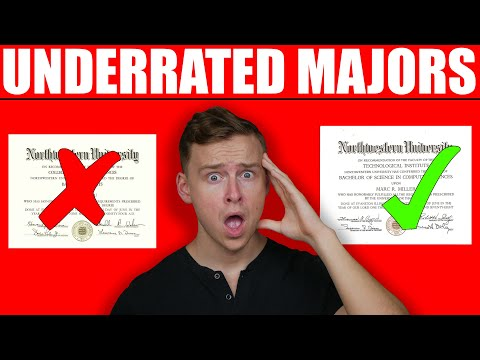 The Most UNDERRATED College Degrees!