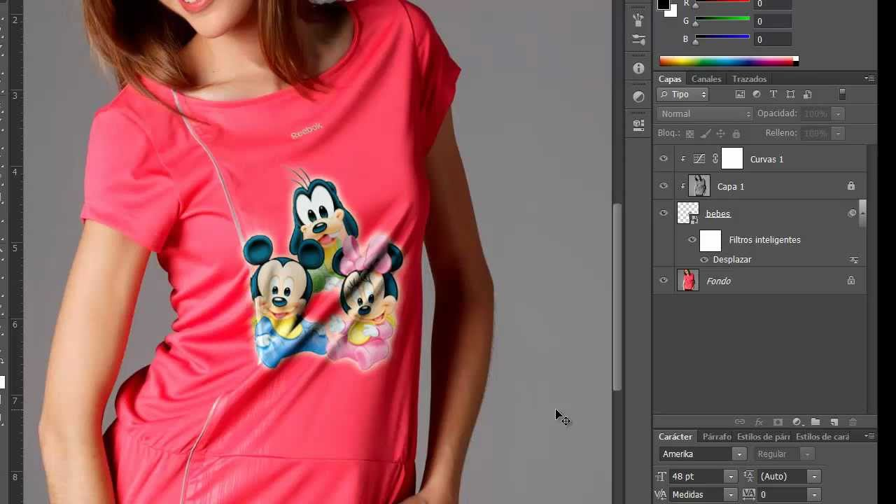 Uso de filtros en Adobe Photoshop
